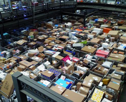 Pakketpost sorteren